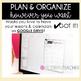 Teacher Binder and Planner Editable (PRETTY BASIC)