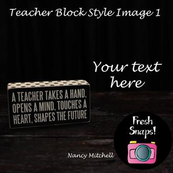 Teacher Block Style 1