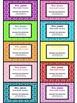 Teacher Contact Cards for Parents- Geometric/Honeycomb Des