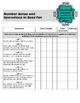 Teacher Data Tracking & Checklist Math Missouri Learning S