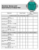 Teacher Data Tracking & Checklist Missouri Learning Standa