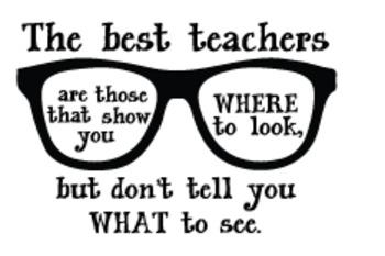 Teacher Decal: Eyeglasses
