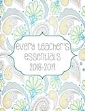 Teacher Essentials: 2016-2017  Planner, Organizer, Gradebo