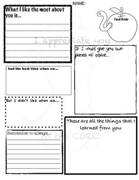 Teacher Evaluation for a Teacher
