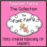 Teacher Font Collection - Free For Personal Use