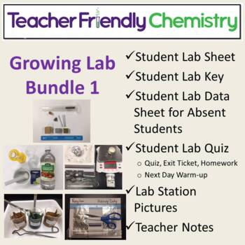 Chemistry Lab: Teacher Friendly Chem Labs & Activities Bin
