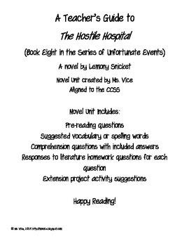 Teacher Guide for the Hostile Hospital