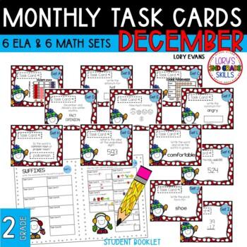 """Teacher, I'm Done!"" Task Cards for January"