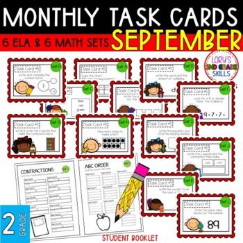 """""""Teacher, I'm Done!"""" Task Cards for September"""