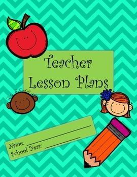 Teacher Lesson Plan Binder Cover