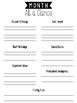 Teacher Lesson Planner - Black and White (January Start)