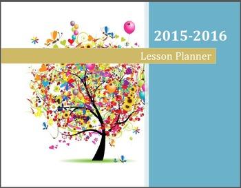 Teacher Lesson Planner Psalms 1:1-3