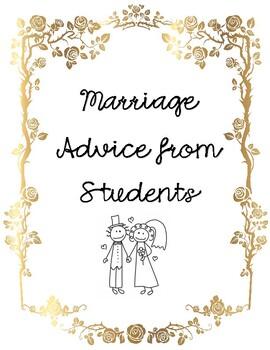 Teacher Marriage Advice Book