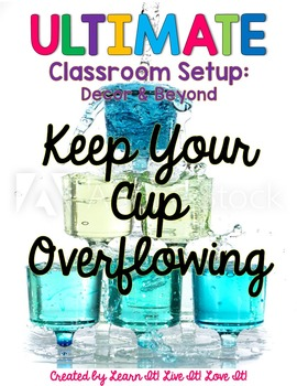Teacher Motivation & Support-Keep Your Cup Overflowing