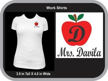 Teacher Name Casual Shirts