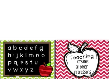 Teacher Note Card and Post Card Set- Teacher Appreciation