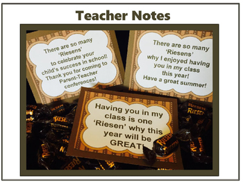 Teacher Notes: So Many Riesens