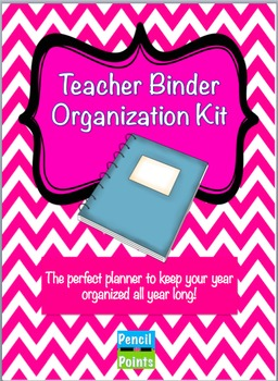Teacher Organization Kit for a Binder