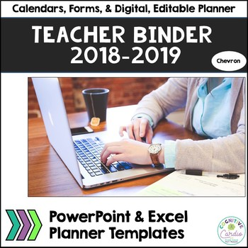 Teacher Organizational Binder, 2016-17, Chevron