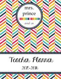 Teacher Planner 2015-2016 {Printable and Customize!}