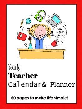 Teacher Planner ***Editable Pages