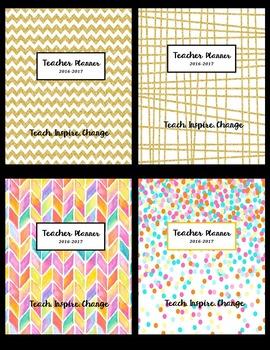 Teacher Planner *Editable*