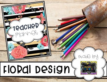 Teacher Planner - Floral Design