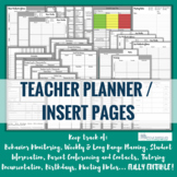 Teacher Binder / Planner Forms