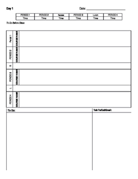 Teacher Planner & Gradebook