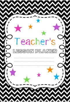 Teacher Planner Neon  {EDITABLE}