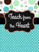 Teacher Planner: Polka Dot Party