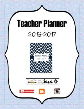 Teacher Planner 2016-2017 by Subject