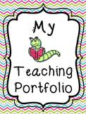 Teacher Portfolio Cover Pages