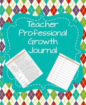 Teacher Professional Growth Journal