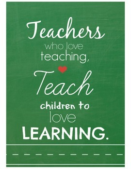Teacher Quote Digital Print Set