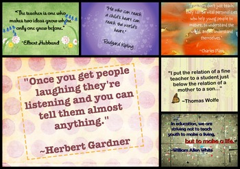 Teacher Quotes Set 2