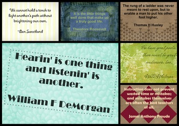 Teacher Quotes Set 4