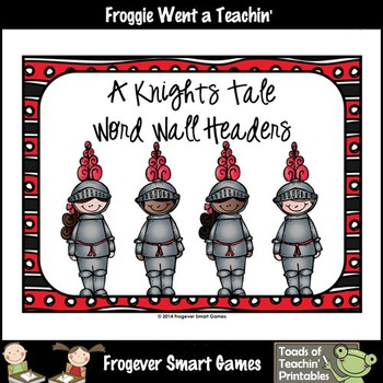 Teacher Resource--Melonheadz Graphics A Knights Tale Word