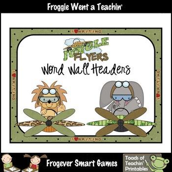 Teacher Resource--Scrappin Doodles Graphics Jungle Flyers
