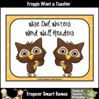 Teacher Resource--Scrappin Doodles Graphics Wise Owl Write