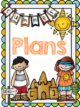 Teacher Summer Planner FREE