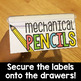 Teacher Toolbox Labels (BRIGHT)