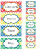 Teacher Toolbox Labels- Primary Chervon