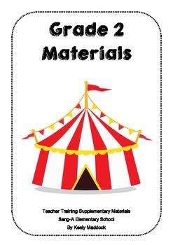 Grade 2 Supplementary Materials for Teacher Training