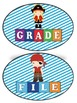 Teacher Tray Labels Pirate Theme 2