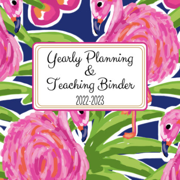 Teacher and Substitute Planner and Binder - Fun in the Sun Style