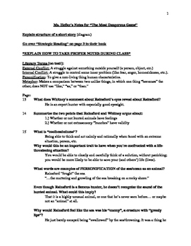 """Teacher notes for leading a class discussion of """"The Most"""
