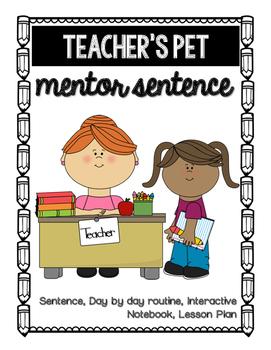 Teacher's Pet Mentor Sentence