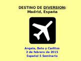 Teacher's Sample: Destinos Auténticos Project Template