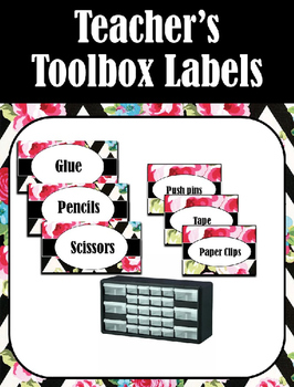 Teacher's Toolbox Labels